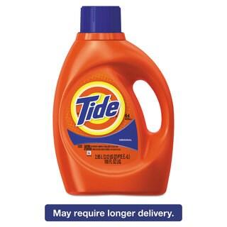 Tide Ultra Liquid Laundry Detergent Original Scent 3.1 qt. Bottle 4/Carton