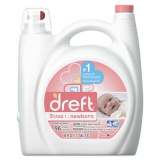 Dreft Ultra Laundry Detergent Liquid Original Scent 150-ounce Bottle 4/Carton