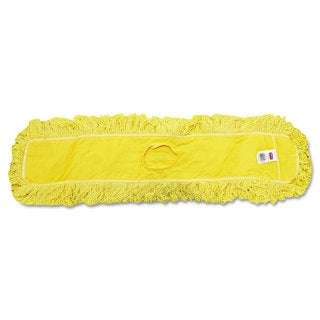 Rubbermaid Commercial Trapper Commercial Dust Mop Looped-end Launderable 5-inch x 36-inch Yellow