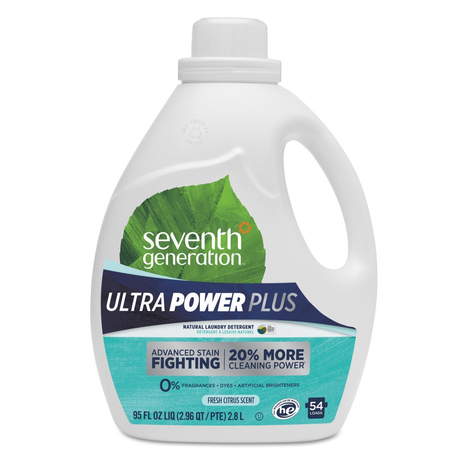 Seventh Generation Natural Liquid Laundry Detergent Ultra...