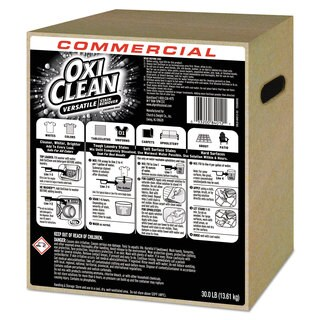 OxiClean Stain Remover Unscented 30-pound Box