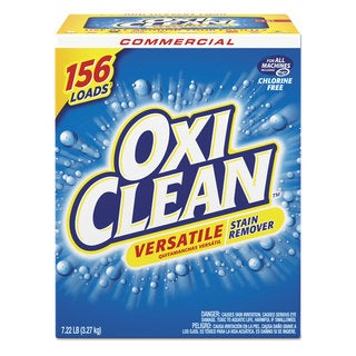 OxiClean Versatile Stain Remover Regular Scent 7.22-pound Box 4/Carton