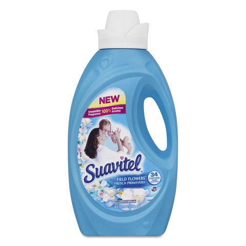 Colgate-Palmolive Suavitel Fabric Softener Field Flowers Scent 50-ounce Bottle