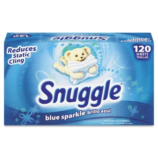 Snuggle Fabric Softener Sheets Fresh Scent 120 Sheets/Box 6 Boxes/Carton