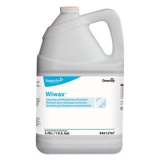 Diversey Wiwax Cleaning & Maintenance Emulsion Liquid 1 gal Bottle 4/Carton