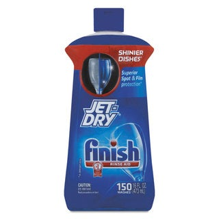 FINISH Jet-Dry Rinse Agent 16-ounce Bottle