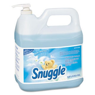 Snuggle Liquid Fabric Softener Blue Sparkle Floral Scent 2 gal Bottle 2/Carton