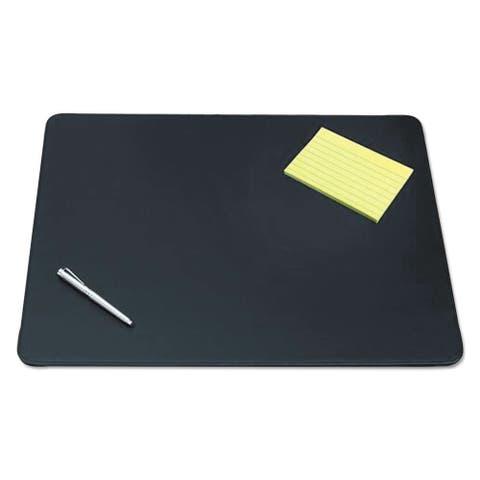 "19"" x 24"" Sagamore Executive Designer Desk Pad, Black"