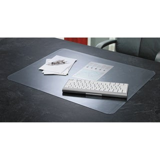 Artistic KrystalView Desk Pad with Microban Matte 17 x 12 Clear