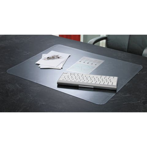 Artistic KrystalView Desk Pad with Microban Matte Finish 36 x 20 Clear