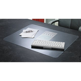 Artistic KrystalView Desk Pad with Microban Glossy 38 x 24 Clear