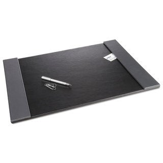 Artistic Monticello Black 24 x 19-inch Desk Pad with Fold-out Sides