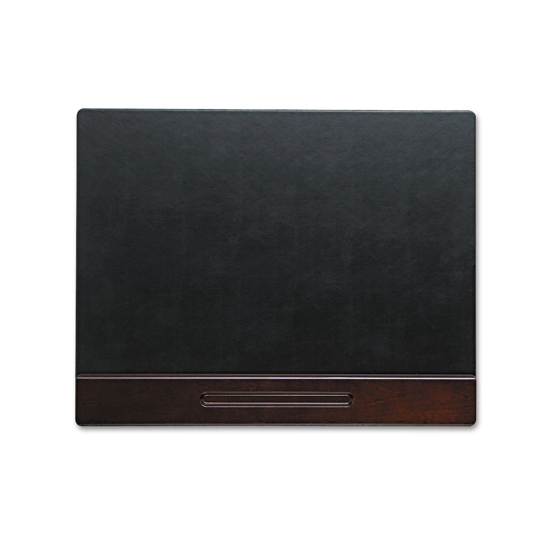 Rolodex Wood Tone Desk Pad Mahogany 24 x 19 (Mahogany), Red