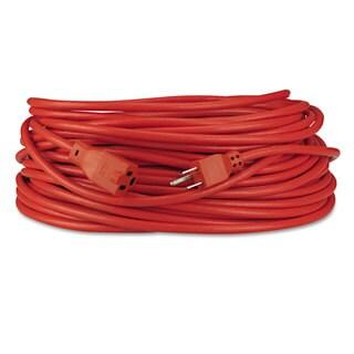 Innovera Indoor/Outdoor Extension Cord 100ft Orange