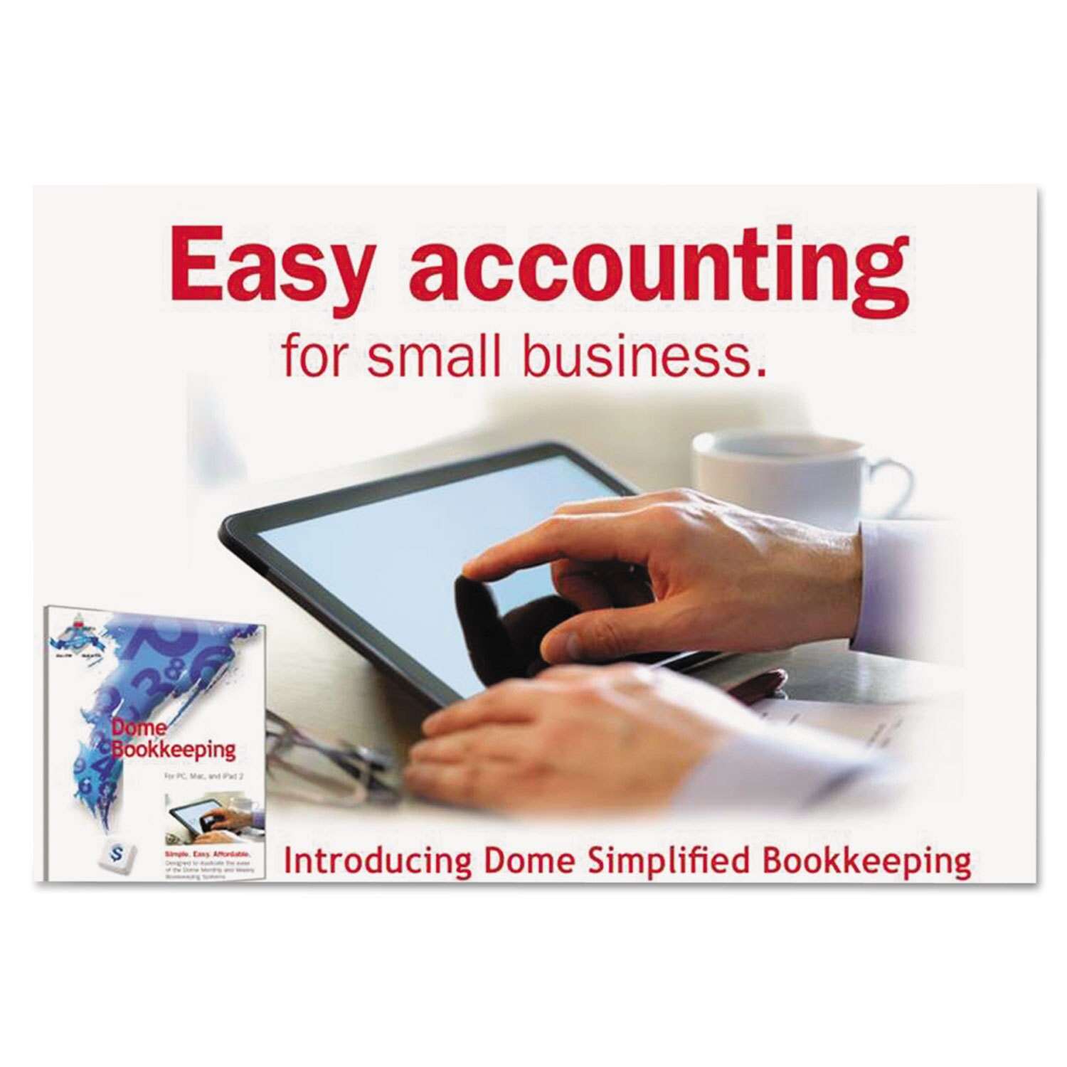 Dome Publishing Simplified Bookkeeping Software Renewal M...