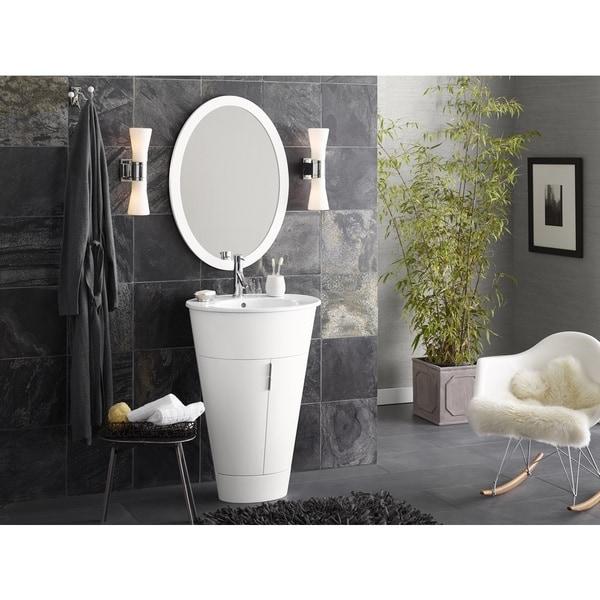 Shop Ronbow Leonie 23-inch Oval Bathroom Vanity Set in ...