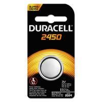 Duracell Button Cell Lithium Battery 2450 36/Carton