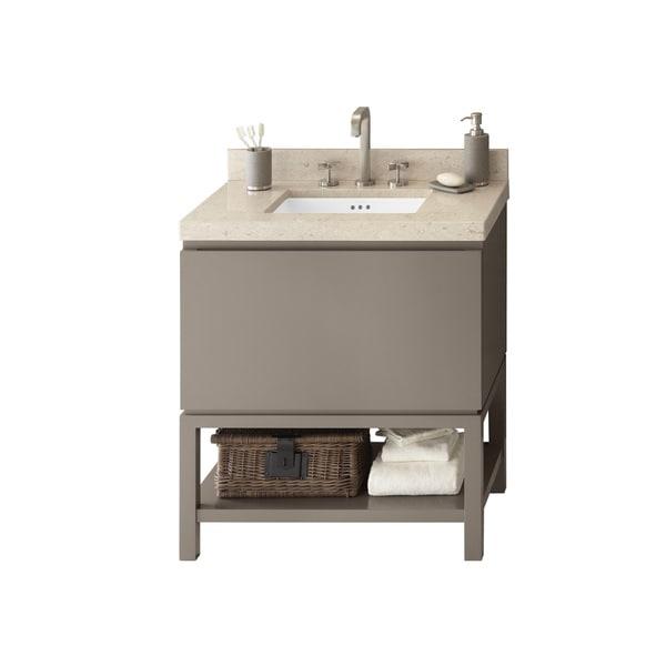 Shop Ronbow Jenna 31-inch Bathroom Vanity Set in Blush ...