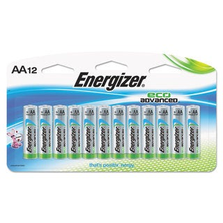 Energizer Eco Advanced Batteries AA 12/Pack