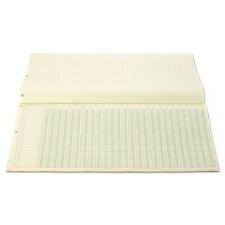 Wilson Jones Accounting Pad 25 Six-Unit Columns 11 x 24 1/4 50-Sheet Pad
