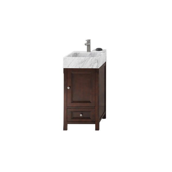 Shop Ronbow Juliet Vintage Walnut 18 Inch Bathroom Vanity Set With