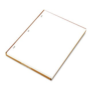 Wilson Jones Ledger Sheets for Corporation and Minute Book White 11 x 8-1/2 100 Sheets