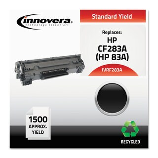 Innovera F283A Compatible Reman CF283A (83A) Toner 1500 Page-Yield Black