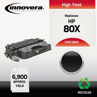 Innovera Remanufactured CF280X (80X) High-Yield Toner 6900 Page-Yield Black