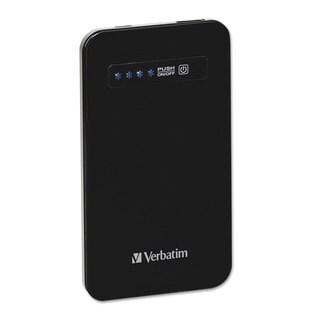 Verbatim Ultra Slim Power Pack Chargers 4200 mAh Battery Capacity Black