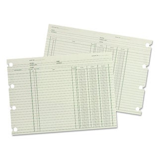 Wilson Jones Accounting 9-1/4 x 11-7/8 100 Loose Sheets/Pack