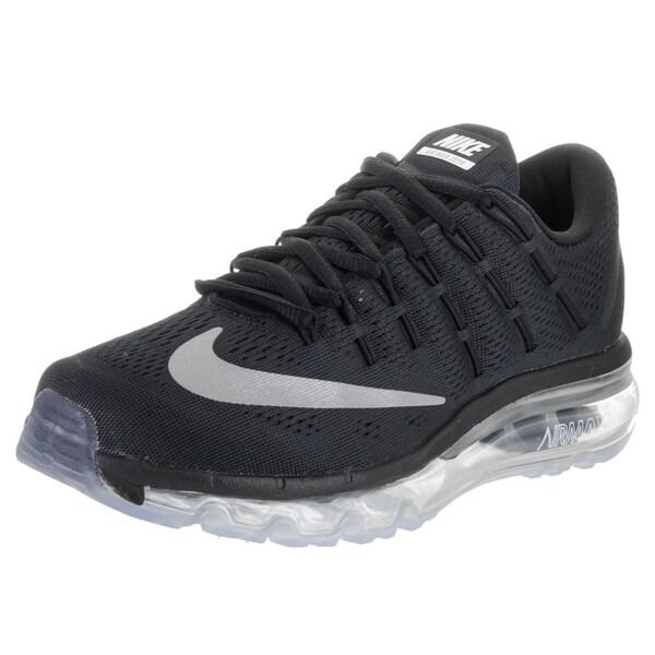 Shop Nike Women's Air Max 2016 Black Running Shoes Free
