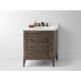 Ronbow Laurel 30-inch Bathroom Vanity Set in Vintage Cafe
