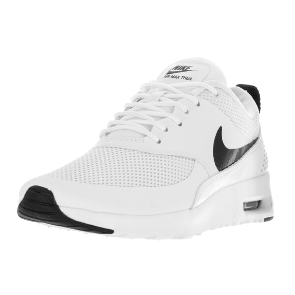 Shop Nike Women's Air Max Thea White Running Shoes Free