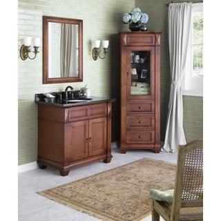 Ronbow Torino 36-inch Bathroom Vanity Set in Colonial Cherry