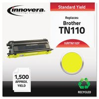 Innovera Remanufactured TN110Y Toner, Yellow