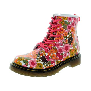 Dr. Martens Kids Delaney Multicolored Leather Boot