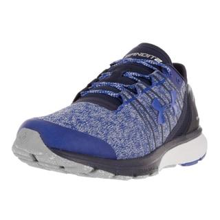 Under Armour Men's Charged Bandit 2 Blue Textile Running Shoe