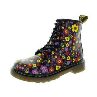 Dr. Martens Kids Delaney Multicolor Leather Boots