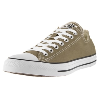 Converse Unisex Chuck Taylor All Star Ox Green Canvas Basketball Shoes