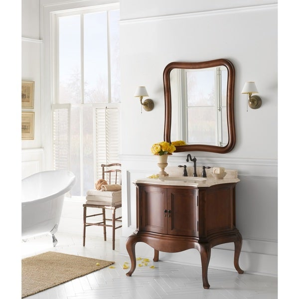 Shop Ronbow Chardonnay 36 Inch Bathroom Vanity Set In