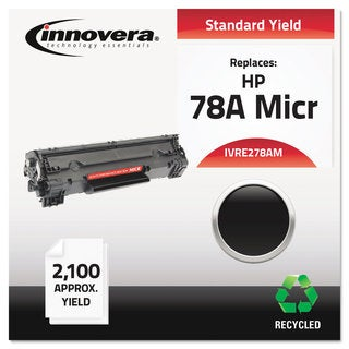 Innovera Remanufactured CE278A (78A) MICR Toner 2100 Page-Yield Black