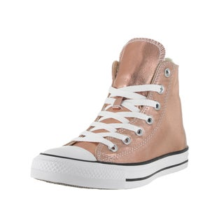 Converse Unisex Chuck Taylor All Star Metallic Brown Vintage High-top Basketball Shoe