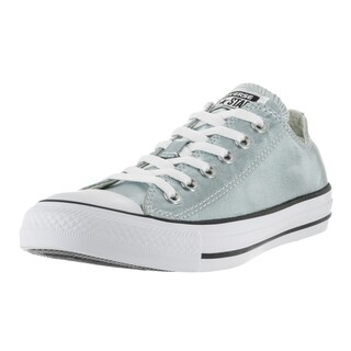 Converse Unisex Chuck Taylor All Star Ox Green Synthetic Leather Basketball Shoes
