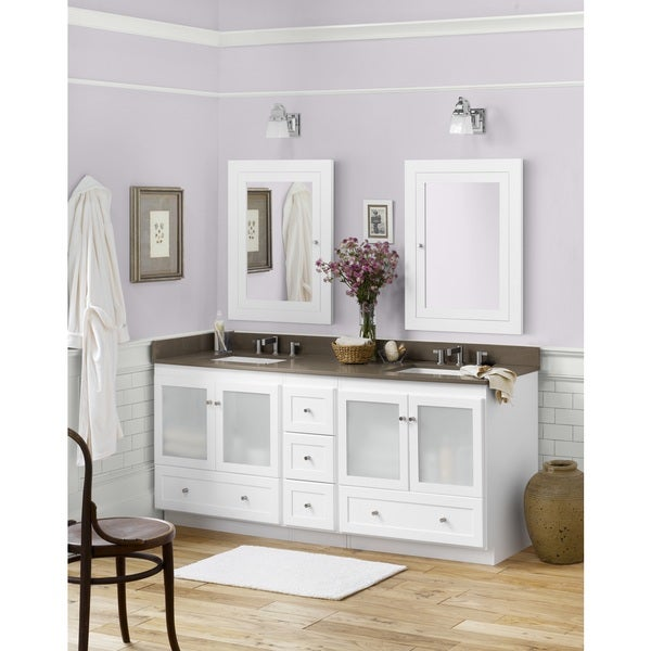 shaker bathroom vanity cabinets shop ronbow shaker 72 inch bathroom vanity set in 20342