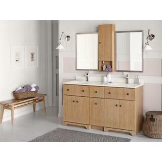 Ronbow Amberlyn 60-inch Bathroom Vanity Set in Vintage Honey