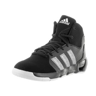 Adidas Men's Daily Double 4 Black Basketball Shoes