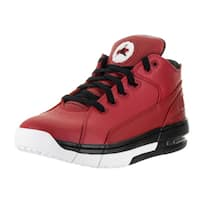 Nike Jordan Men's Jordan Ol'School Red Leather Low Basketball Shoes