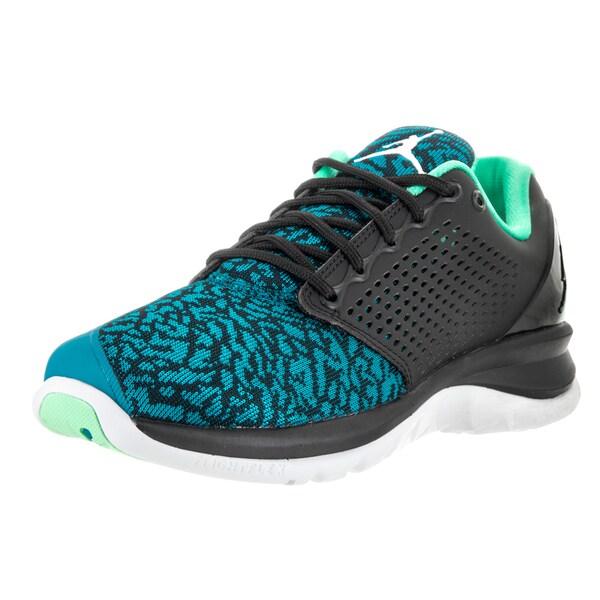 c8db184f375f Shop Nike Jordan Men s Blue Jordan Trainer St Textile Training Shoes ...