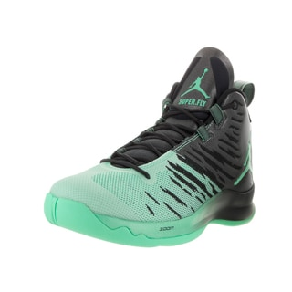 Nike Jordan Men's Jordan Super.Fly 5 Green Textile Basketball Shoes