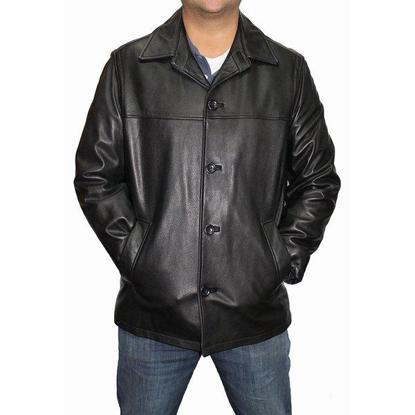 Shop Alfani Men S Brasco Leather Jacket Free Shipping Today